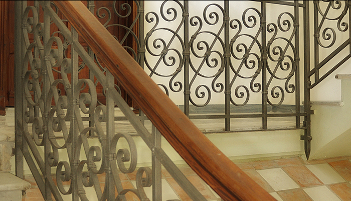 Scale interne Villa Regina Residence ad Amelia in Umbria -