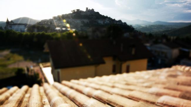 Affitto appartamenti per percorsi ed  itinerari   in Umbria - Residence Villa Regina